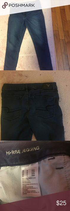 American eagle high rise jegging (short) American eagle high rise jegging - short size 10 American Eagle Outfitters Jeans Skinny