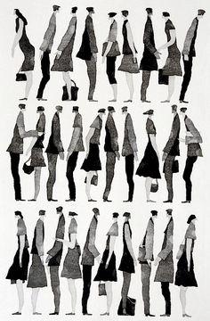 Contemporary Japanese Printmakers : 会話 (Conversation) at Davidson Galleries