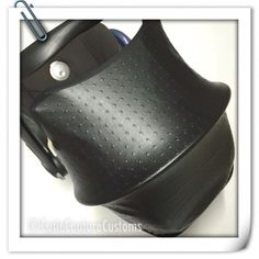 Custom made baby carseat hood to fit Maxi Cosi Cabriofix cabrio FAUX LEATHER