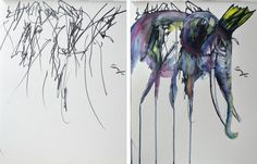 ruth-oosterman-Turns-Daughters-Sketches-Into-Watercolor-Paintings-5