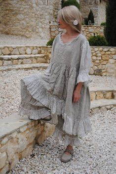 les chiffons de pucerone - Page 6 - les chiffons de pucerone Mode Hippie, Mode Boho, Hippie Style, Boho Outfits, Vintage Outfits, Fashion Outfits, Ropa Shabby Chic, Hippy Chic, Retro Mode