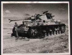World War 2, Western Desert Campaign, Egypt, Tank War Machine