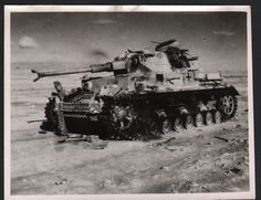 World War 2, Western Desert Campaign, Egypt, Tank War Machine
