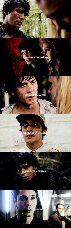 """"""" — if he only knew the things she could see."""" 