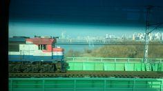 Korail .Han river. Korea