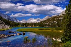 Heart Lake, Little Lakes Valley Trail, Eastern Sierra Nevada Mountains, California