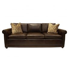 Old World Tuscan Style Leather Sofa 💕SHOP💕 www.crownjewel.design