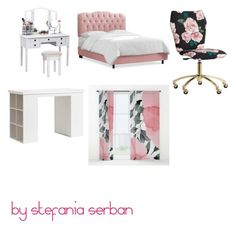 """""""💝💜"""" by stefania-serban on Polyvore featuring interior, interiors, interior design, home, home decor, interior decorating and PBteen"""