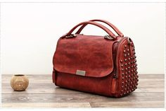 Handmade Full Grain Leather Messenger Shoulder Bag Satchel Handbag WF 85 - ArtofLeather