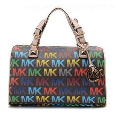 Michael Kors Grayson moyen MK Logo monogramme Cartables NoirSac Pas Cher Chine #fashionbag#jewellery #jewellerydesign}