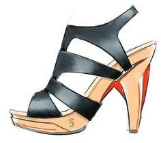 fab shoe sketch