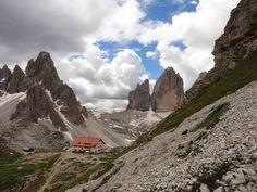 Rifugio Locatelli Dolomites