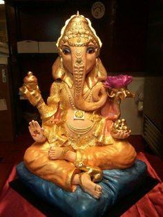 Ganesh cake - this is amazing