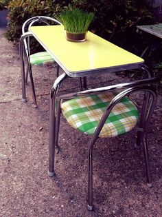 Recycled Parts Refurbished Mid-Century Child-Size by HUEisit