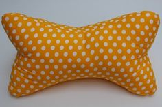 Backrest Pillow, Pillows, Dots, Yellow, Cushions, Pillow Forms, Cushion, Scatter Cushions