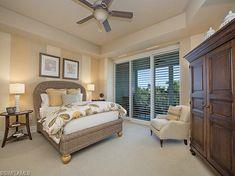 4th Floor Beach Condo Tropical Guest Bedroom in Park Shore, Naples, Florida