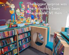 Library Design Case Study The Manor Prep School Oxfordshire
