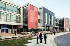 Education Architecture, School Architecture, Warehouse Design, Facade Design, Schools, Architects, High School, Technology, Facades