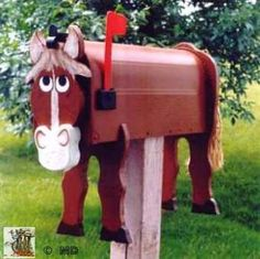 Horse Mailbox                                                                                                                                                                                 More
