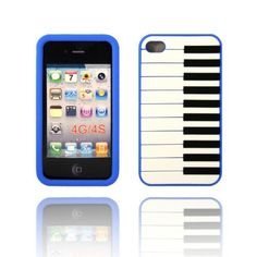 BYG Blue Piano Keyboard on Black Flexible Silicone Soft Skin Case Cover for Apple Iphone 4 4G 4S + Gift 1pcs Phone Radiation Protection Sticker by Piano devise, http://www.amazon.com/dp/B00CMSEISS/ref=cm_sw_r_pi_dp_eOPHrb06PYDXZ
