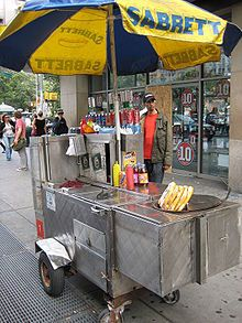 Cravings.....New York hot dogs