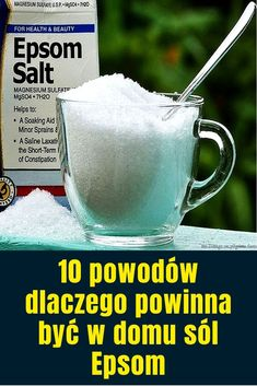 Mając trochę soli Epsom w domu to świetny pomysł, ponieważ jej składnikiem czynnym jest siarczan magnezowy złożony, który ma wspaniałe i pozytywne korzyści zdrowotne, z których najważniejsze opisaliśmy poniżej. Zapewnia relaks Spędzanie czasu w ciepłej wodzie w wannie, do której dodano sól