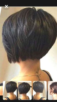 Best Short Bob Haircuts for Women Side-Parted Short Bob Haircut Best short bob hairstyles for women Bob Haircuts For Women, Best Short Haircuts, Short Hair Cuts For Women, Short Hair Styles, Haircut Short, Haircut Bob, Short Bob Thick Hair, Bobs For Thick Hair, Short Angled Bobs