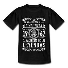 1967 - 50 años - Leyendas - 2017 Camisetas