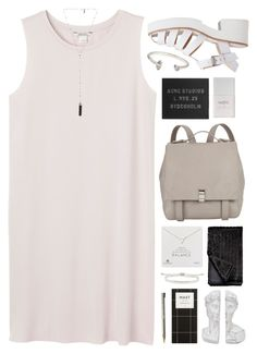 """""""There's nothing to be ashamed of/ Taking off again//"""" by nandim ❤ liked on Polyvore featuring Monki, Proenza Schouler, Dogeared, Natalie B, Lily White, Monica Vinader, Nails Inc., Acne Studios, BIC and Jeweliq"""