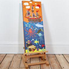 Pirate Ship Light Up Canvas