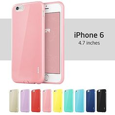 iPhone 6 Case, ESR® Yippee Color Series Protective Case Bumper [Shock Absorbent] [Ultra Thin [Light Weight] ] [Scratch-Resistant] [Perfect Fit] Soft TPU Back Cover for 4.7 inches iPhone 6 (Sweet Pink) ESR http://www.amazon.com/dp/B00MXJFX3A/ref=cm_sw_r_pi_dp_A7bWub0CBXGBM