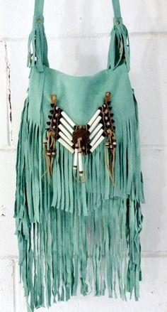 Boho~Chic Fringe Handbag: ☮Hippie Masa Group☮ #boho #hippie