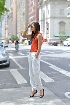 Inspiration look Day to night : Inspiration look Day to night : Memorial Stripes | To Be Bright