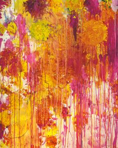 Cy Twombly, Untitled (2001) - The Natural World exhibition series at The Art Institute of Chicago