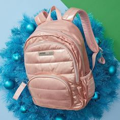 Backpacks that pack all the cool she needs, with plenty of space left for lunch totes, matching supplies, and all her extras! Justice Accessories, Kawaii Accessories, Stylish Backpacks, Girl Backpacks, Justice Bags, Justice Stuff, Casual School Outfits, Girl Outfits, Fashion Bags
