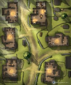 Fantasy Town, Fantasy Map, Fantasy Heroes, Map Pictures, Fantasy Pictures, Building Map, Rpg Map, Free Maps, Dnd Art