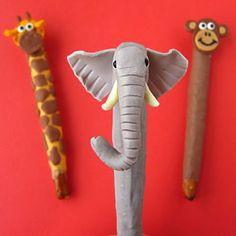 Hungry Happenings: Jungle Animal Pretzel Pops