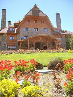 Hotel LLao-LLao, Bariloche, Argentina «  Entrada principal