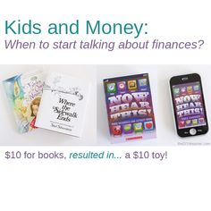 Kids and Money {Financial Talk} – When should you start talking about finances with your children?