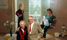 Mr and Mrs Clark and Percy, Hockney's 1971 portrait of textile designer Celia Birtwell and her then husband, is in his retrospective at Tate Britain, which opens this week. Here, Birtwell talks about the painting and her role as Hockney's muse Celia Birtwell, Joy And Sadness, Ossie Clark, Bright Eyeshadow, Tate Britain, Abstract Drawings, Abstract Paintings, David Hockney, National Portrait Gallery