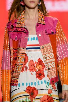 "forlikeminded: "" Desigual | New York Fashion Week | Spring 2017 "" Haute couture blog"