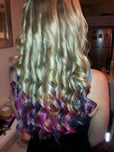 Dip dye...talk about an amazing effort!! PM me for a quote