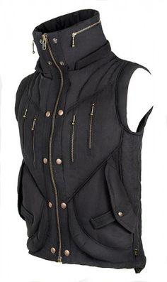 Mens Puma Vest - Black