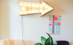This-A-Way to a Super Cool Marquee Light DIY!