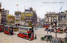 Piccadilly Circus, Times Square, England, Street View, London, Board, Travel, Viajes, Destinations