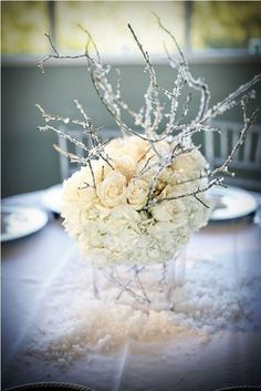 Gallery: winter wedding centerpieces ideas - Deer Pearl Flowers