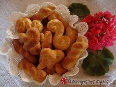 Κουλουράκια αμμωνίας φωτογραφία βήματος 7 Snack Recipes, Snacks, Chips, Biscotti, Easter, Food, Greek, Cookies, Snack Mix Recipes