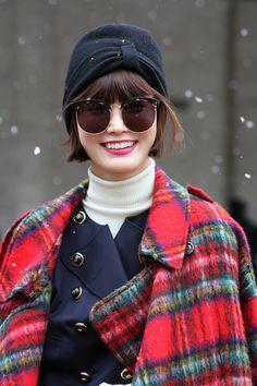 Kyung Ah Song Model off duty during NYFW FW 2015 © Clara Ungaretti