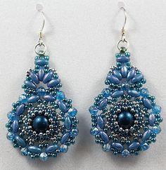 BeadSmith Project Kashmir Earrings