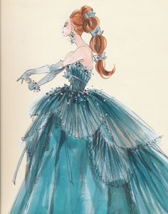 Fashion Illustration, Barbie Calendar